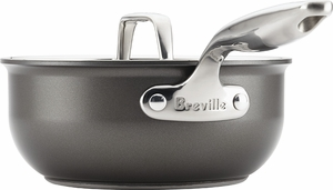 Breville Thermal Pro® Hard Anodized Covered Saucier - Click to enlarge