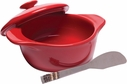 Brie Cheese Baker with Spreader Red