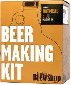 Brooklyn Brew Shop Oatmeal Stout Beer Making Kit - Click to enlarge