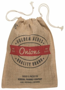 Burlap Onion Sack - Click to enlarge