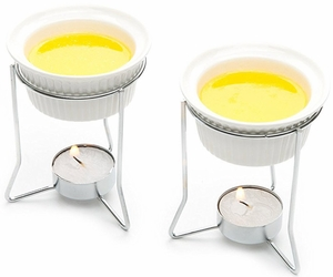 Set of 2 Butter Warmers - Click to enlarge