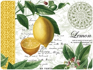 Cala Home Set of 4 Citron Placemats - Click to enlarge