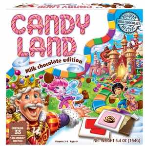 Candy Land Chocolate Game Box - Click to enlarge