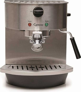 Capresso Stainless Steel Espresso & Cappuccino Machine - Click to enlarge