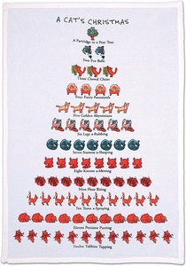 Twelve Days of Christmas Towel - Click to enlarge
