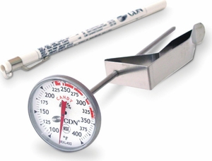 CDN ProAccurate Insta-Read Candy & Deep Fry Thermometer - Click to enlarge