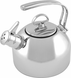 Chantal Classic Tea Kettle Stainless Steel - Click to enlarge