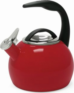 Chantal Anniversary Tea Kettle Chili Red - Click to enlarge