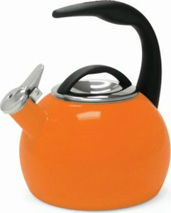 Chantal Anniversary Tea Kettle Orange - Click to enlarge