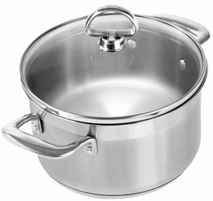 Chantal Induction 21 Steel Stock Pot - Click to enlarge