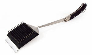Charcoal Companion Avant Big Head® Safe-Scrub™ Grill Brush - Click to enlarge