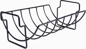 Charcoal Companion Non-Stick Reversible Grill and Roasting Rack - Click to enlarge