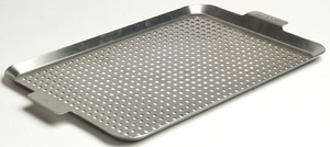 "Charcoal Companion Stainless Steel 17.5"" x 12"" Grid - Click to enlarge"
