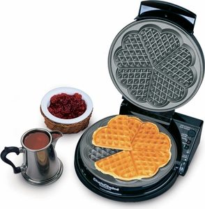 Chef's Choice 830 SE Five of Hearts Waffle Pro - Click to enlarge