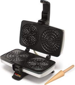 Chef's Choice 834 Pizzelle Pro with Bonus Roller - Click to enlarge