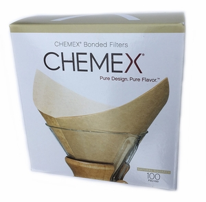 Chemex Pre-folded Filter-Natural - Click to enlarge