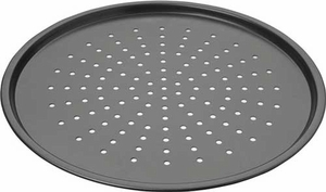 "Chicago Metallic Nonstick 14"" Perforated Pizza Pan - Click to enlarge"