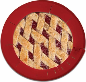 Chicago Metallic Pie Crust Protector - Click to enlarge