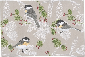 Chickadee Placemat - Click to enlarge