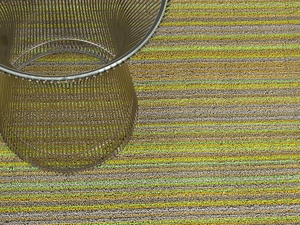 Chilewich 24X36 Shag Rug Skinny Stripe - Click to enlarge