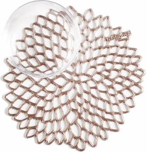 Chilewich Set of 6 Dahlia Coasters - Click to enlarge