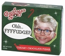 Christmas Story Chocolate Fudge