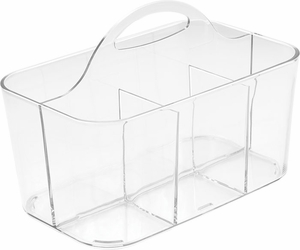 Clarity Flatware Caddy - Clear - Click to enlarge