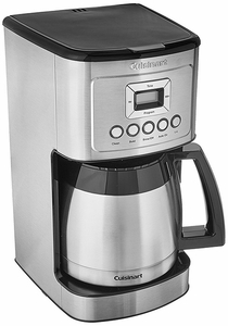Cuisinart Perfectemp 12 Cup Thermal Coffee Maker DCC 3400