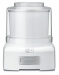 Cuisinart White Ice Cream Maker