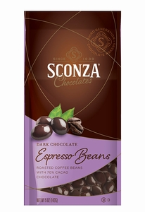 Dark Chocolate Espresso Beans - Click to enlarge