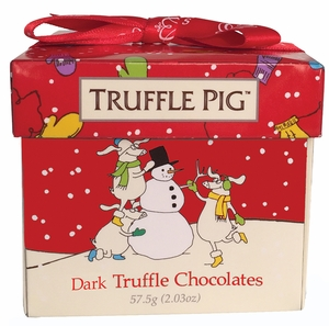 Dark Chocolate Truffle Pigs - Click to enlarge