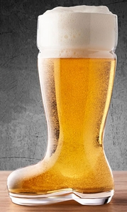 Das Beer Boot Glass - Click to enlarge