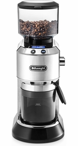 Delonghi Stainless Steel Dedica Coffee Grinder - Click to enlarge