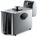 DeLonghi Stainless Steel Deep Fryer with Drain