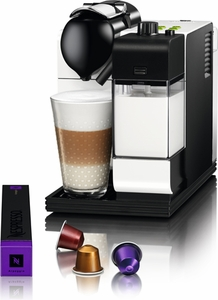 DeLonghi Nespresso Lattissima Plus White - Click to enlarge