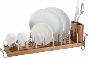 Drain Forest Bamboo Dish Drainer - Click to enlarge