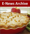 E-Newsletter<br />Dessert Archive