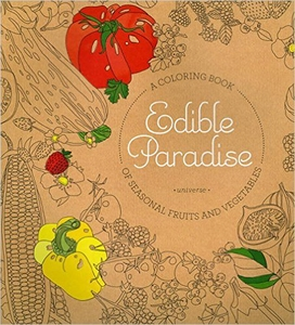 Edible Paradise Coloring Book - Click to enlarge