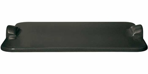 Emile Henry Flame-Top Rectangular Baking Stone Charcoal - Click to enlarge