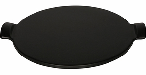 Emile Henry  Flame Top Pizza Stone Charcoal - Click to enlarge
