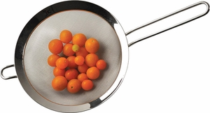 """Endurance 8"""" Stainless Steel Strainer - Click to enlarge"""