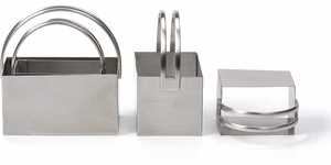 Endurance Set of 4 Rectangular Biscuit Cutters - Click to enlarge