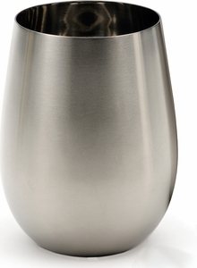 Endurance Stainless Steel 18oz Stemless Wine Glass - Click to enlarge