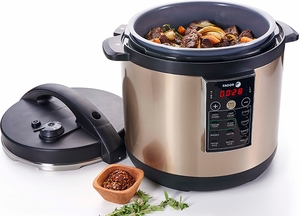 Fagor LUX™ Champagne Multi Cooker - Click to enlarge