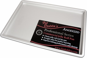 "Fat Daddio's 10"" x 15"" x 1"" Jelly Roll Pan - Click to enlarge"