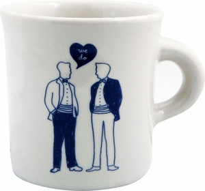 Fishs Eddy We Do Men Mug - Click to enlarge