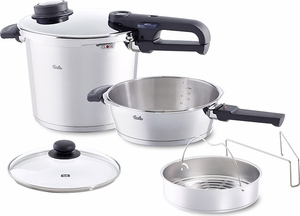 Fissler Vitavit® 6 Piece Pressure Cooker Set - Click to enlarge