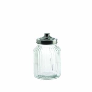 Fortessa Ribbed Glass Container - Click to enlarge