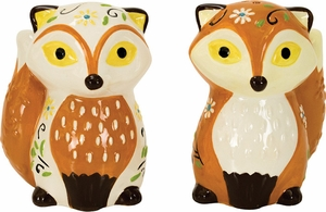 Fox Salt and Pepper Shakers - Click to enlarge