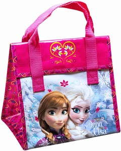Frozen Elsa & Anna Insulated Lunch Bag - Click to enlarge